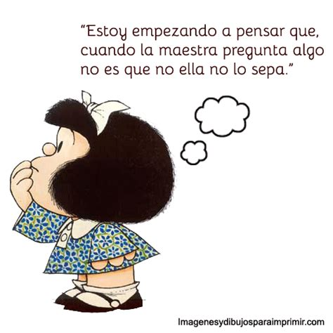 Frases para que compartas de Mafalda   Todas Frases
