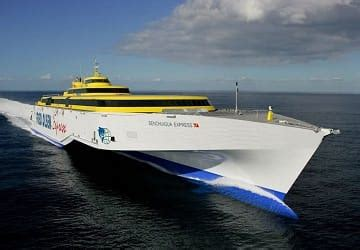 Fred Olsen Express   Ferry Booking, timetables and tickets