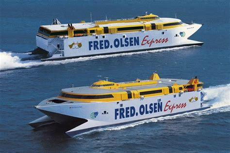 Fred Olsen multiplica para el verano las frecuencias entre ...