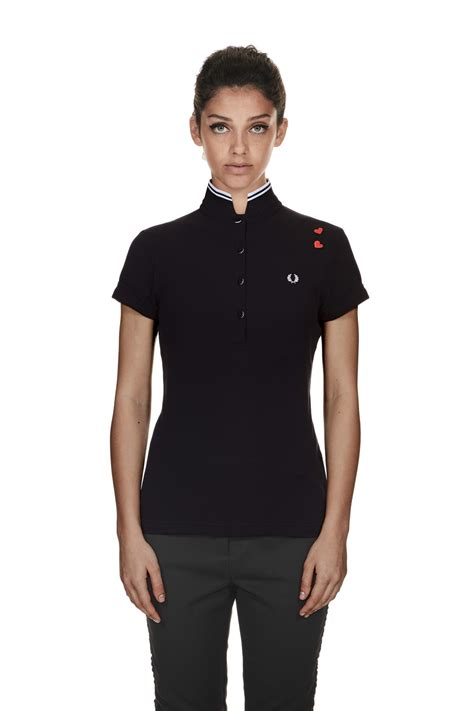 Fred Perry   Amy Winehouse Fred Perry Shirt Black