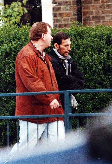 Freddie in April 1991   Queen Photos