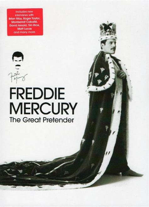 Freddie Mercury  The Great Pretender  DVD and Blu ray gallery
