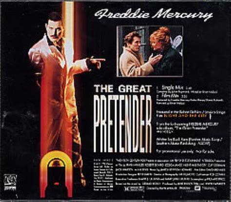 Freddie Mercury The Great Pretender + stickered case US ...