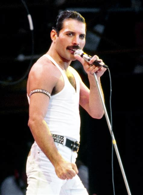 Freddie – Live Aid   Queen Photos