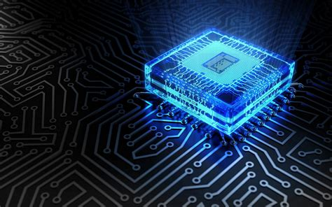 Free 3d Computer Chip Hd Wallpapers Download
