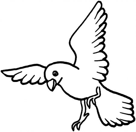 Free Flying Bird Coloring Pages >> Disney Coloring Pages