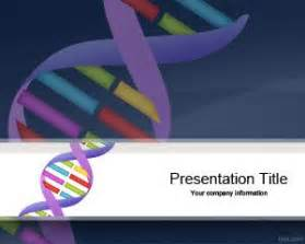 Free Genetics DNA Sequencing PowerPoint Template is a free ...