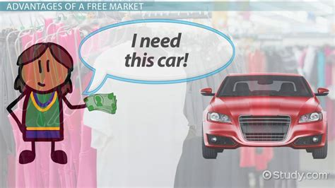 Free Market: Definition, Advantages & Examples - Video ...