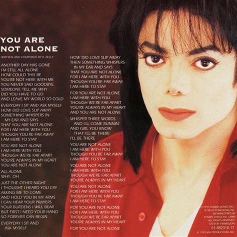Free Music: Michael Jackson - You Are Not Alone - download ...