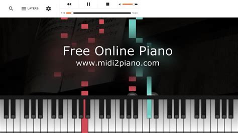 FREE Online Piano Website - YouTube