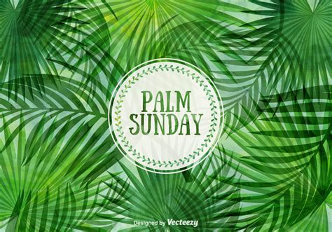 Free Palm Sunday Vector Illustration - Download Free ...