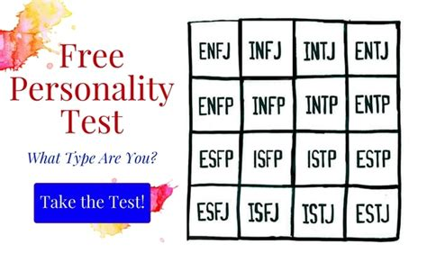 Free Personality Test – Which of These 16 Temperament ...