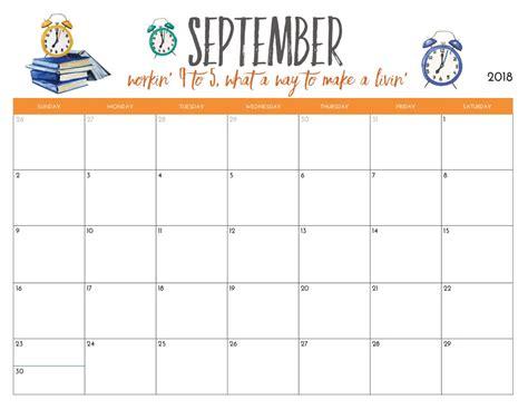 Free Printable 2018 Monthly Calendar   Calendar 2018