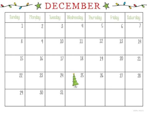 Free Printable Christmas Planner | December and Wish list