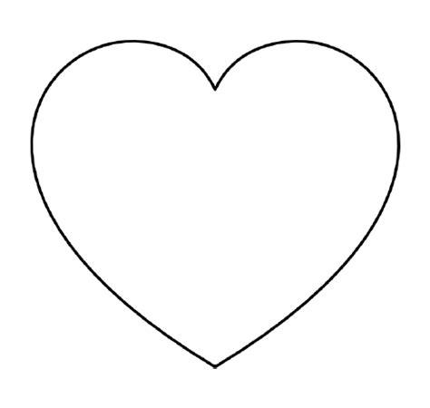 Free Printable Heart Templates – Large, Medium & Small ...