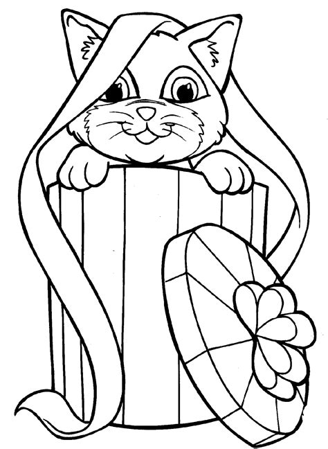 Free Printable Kitten Coloring Pages For Kids   Best ...