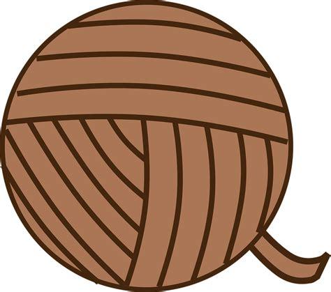 Free vector graphic: Ball Of Yarn, Yarn, Brown, Knit ...