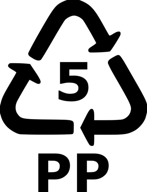 Free vector graphic: Recycle, 5, Pp, Recycling, Plastic ...