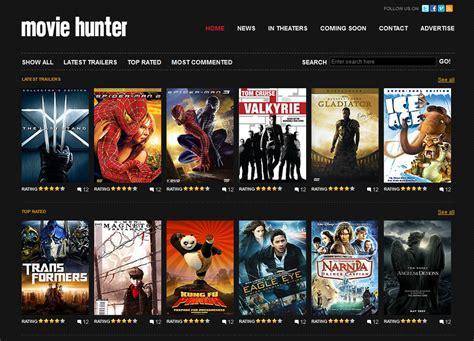 Free Website Template – Movie Hunter | Free Web Templates ...