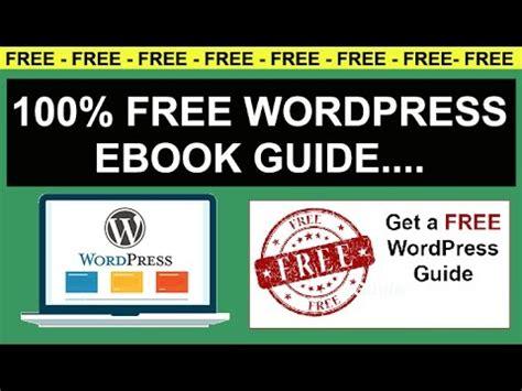 Free WordPress ebook Guide - WordPress Tutorial PDF ...