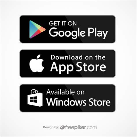 Freepiker   google play appstore windows store icon