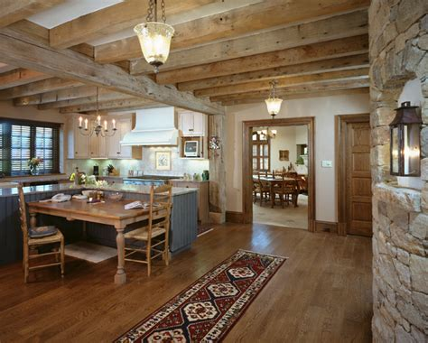 French Country Home - Rustic - Kitchen - philadelphia - by ...