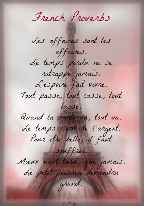 French Proverbs | Life | Pinterest