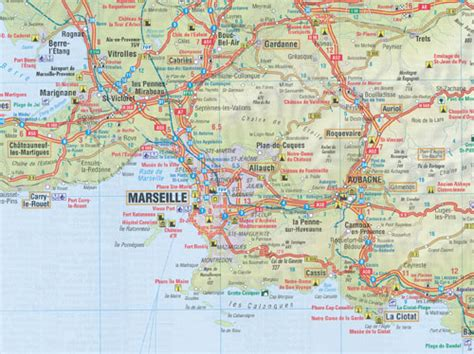 French Riviera Provence Map Insight Travel Map | Maps ...
