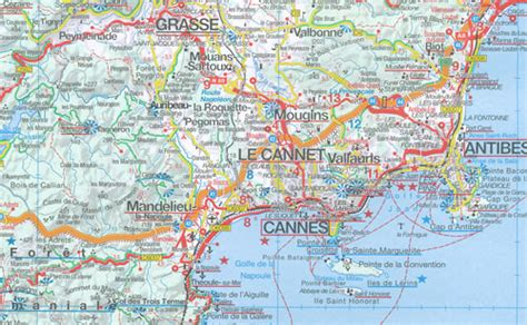 French Riviera Provence Map Marco Polo | Maps | Books ...
