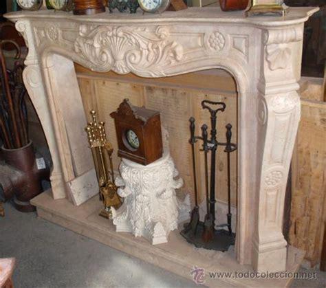 frente de chimenea tallado en marmol, rosa perl - Comprar ...