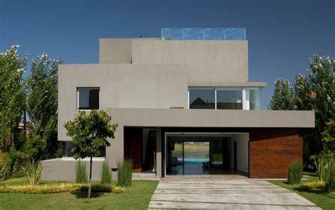 frentes de casas modernas con madera