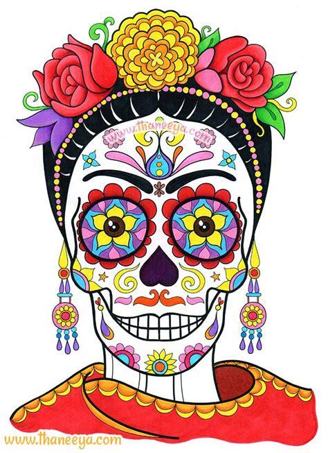 Frida Sugar Skull by Thaneeya McArdle   Flickr   Photo ...