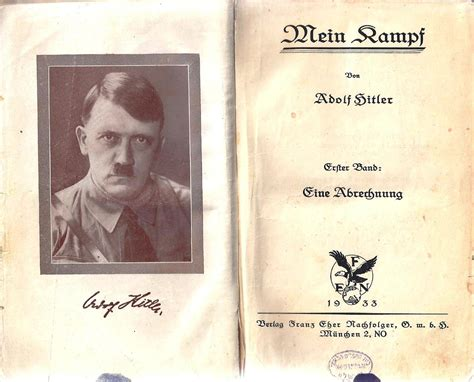 From Ideology to Racism: Hitler's Mein Kampf