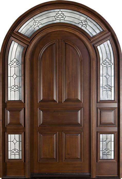 Front Door Custom - Single with 2 Sidelites - Solid Wood ...