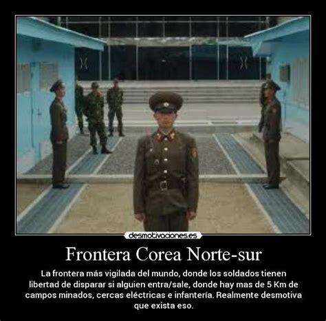 Frontera Corea Norte-sur | Desmotivaciones