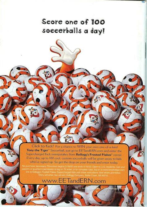 Frosted Flakes  Kellogg s : 2002 Frosted Flakes Soccer Ad