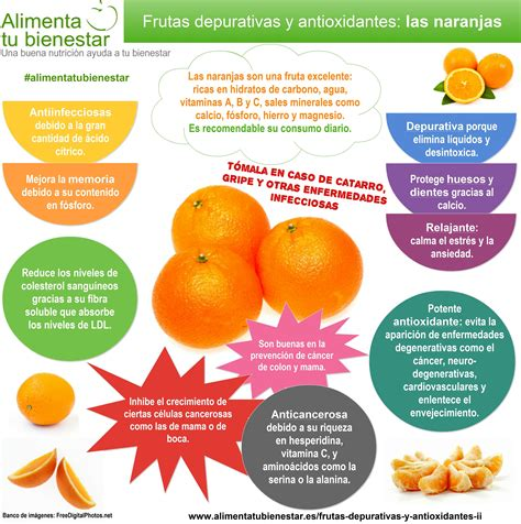 Frutas depurativas y antioxidantes: kiwi, naranja ...