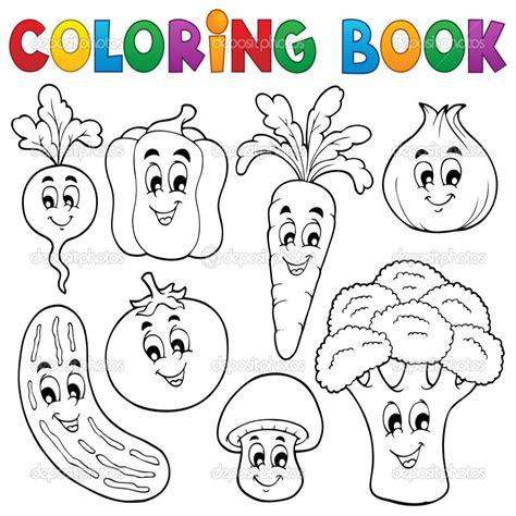 Frutas Y Verduras Dibujos Para Colorear