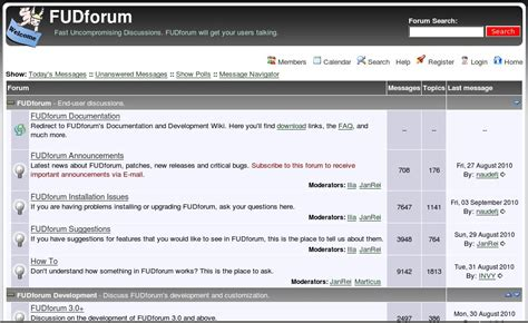 FUDforum   Wikipedia