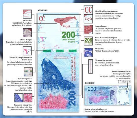 Fue presentado el billete de $200 en Puerto Madryn ...