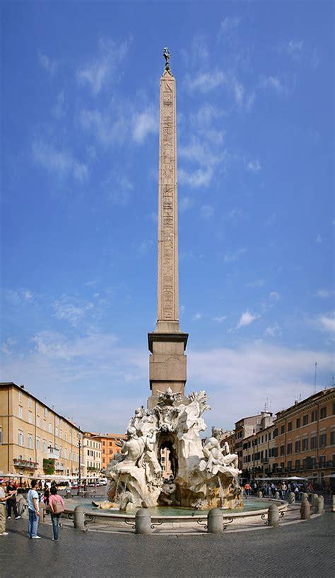 Fuente de los Cuatro Ríos, por Gian Lorenzo Bernini ...
