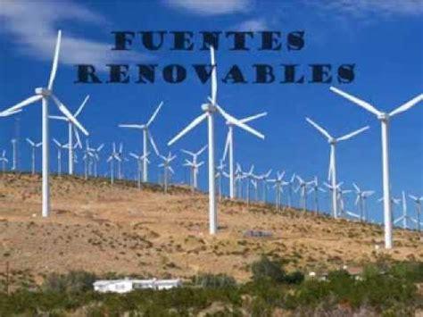 Fuentes de energia renovables y no renovables - YouTube