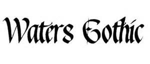 Fuentes góticas para tus diseños