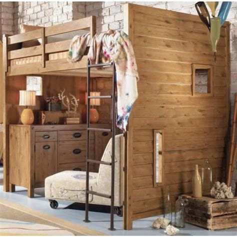 Full Sized Loft Bed | Ideas for Kate | Pinterest | Bunk ...