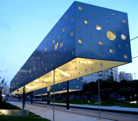 Fun and modern train station in Alicante, Spain