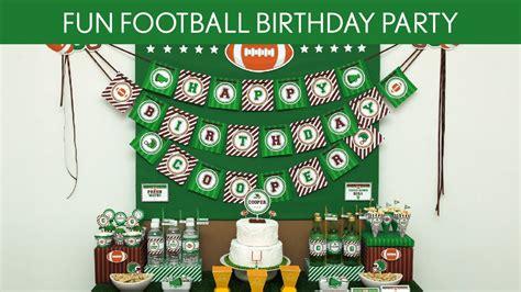 Fun Football Birthday Party Ideas // Fun Football   B117 ...