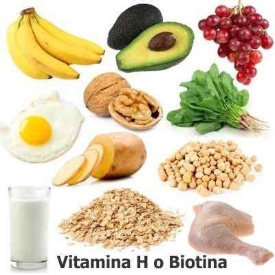 Función de la vitamina H o Biotina en el cuerpo humano ...