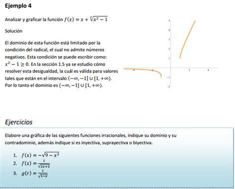 Funciones algebraicas: función polinomial, racional e ...