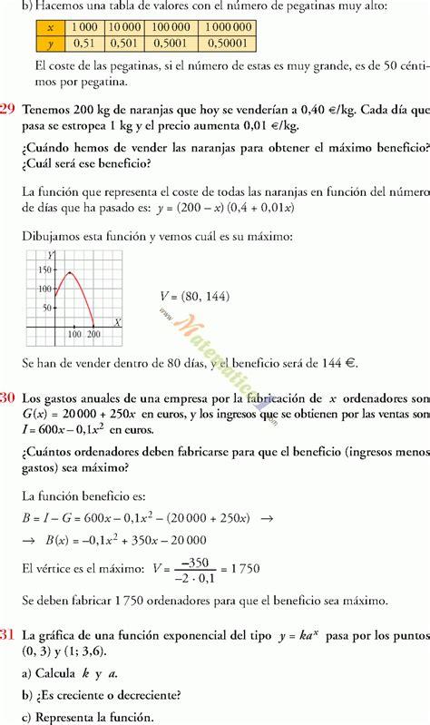 FUNCIONES ELEMENTALES 4TO DE SECUNDARIA – ESO EJERCICIOS ...