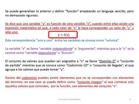Funciones matemáticas en la forma y=f x    Monografias.com